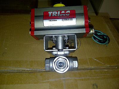 (Triad Controls Rack & Pinion Actuator, Double Acting TR20DA)