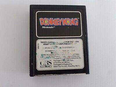 Atari 2600 game Donkey kong (cbs electronics)Tested & working cartridge only