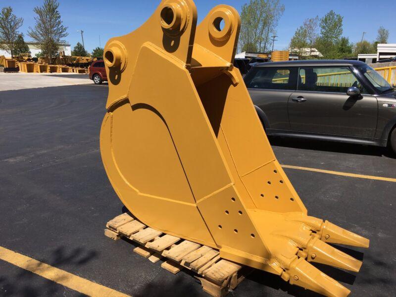 """New 30"""" Cat 345B / 345BII / 350L / 350BL - F Linkage HD Excavator Bucket w/Pins"""