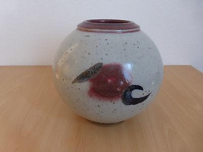 Horst KERSTAN Keramik Vase, signiert und datiert (94)