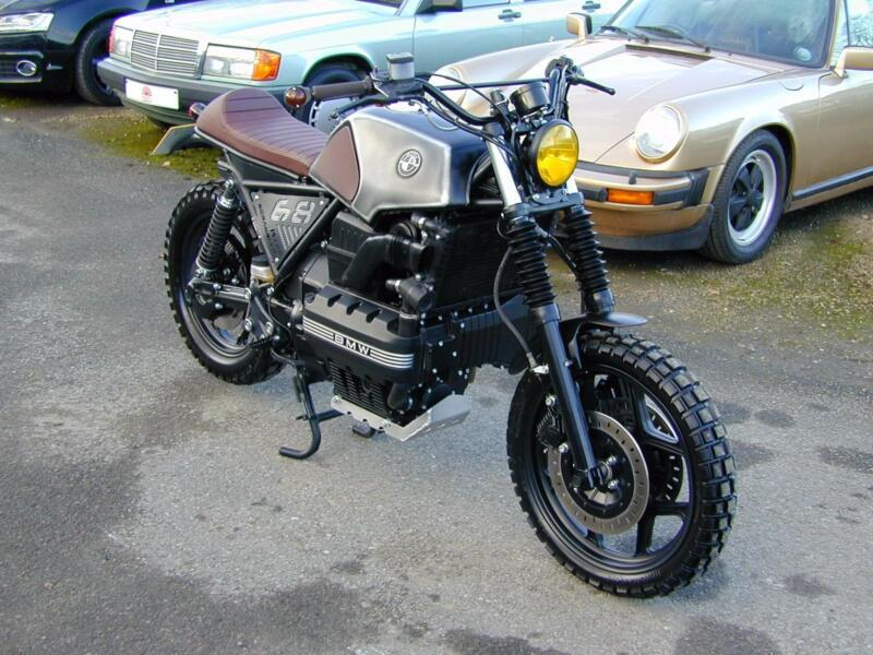 BMW K100 CUSTOM BUILD FLAT TRACKER SPECIAL - UNIQUE - MIND BLOWING - EXCEPTIONAL
