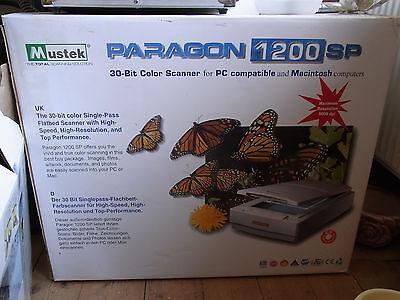 Flachbettscanner Paragon 1200 SP SCSI von Mustek