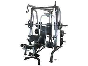Force USA SMITH Machine, Bench and Weights Semaphore South Port Adelaide Area Preview