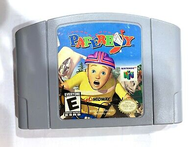 Paperboy Paper Boy Nintendo 64 N64 Original Game Tested + Working & AUTHENTIC