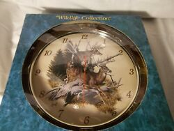 Fine Art Collection Wildlife Wall Clock New