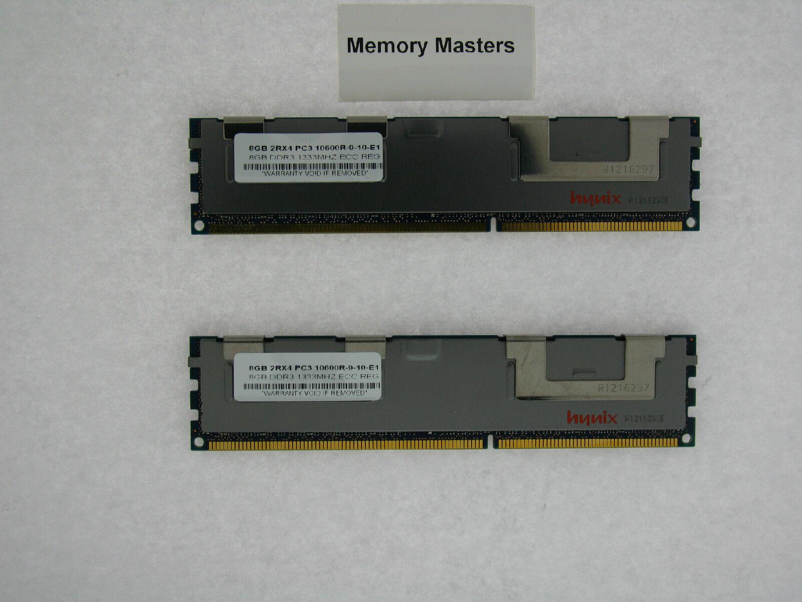 16GB 2X8GB MEMORY FOR DELL POWEREDGE C1100 C2100 C6100 M610 M710 R410 R510