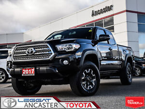 2017 Toyota Tacoma ACCESS CAB TRD Off Road V6 4X4 ONLY 10205 KMS