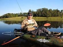 DREAM CATCHER 3 Fishing Kayak - Best Value Kayak in Oz FREE Gear Belmont Belmont Area Preview