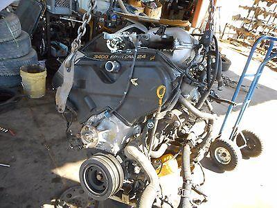 2/99-00 Toyota 4Runner 2/99-04 Tacoma 3.4L 5VZFE V6 Engine Federal Emissions 1999 2000 Toyota Tacoma Engine