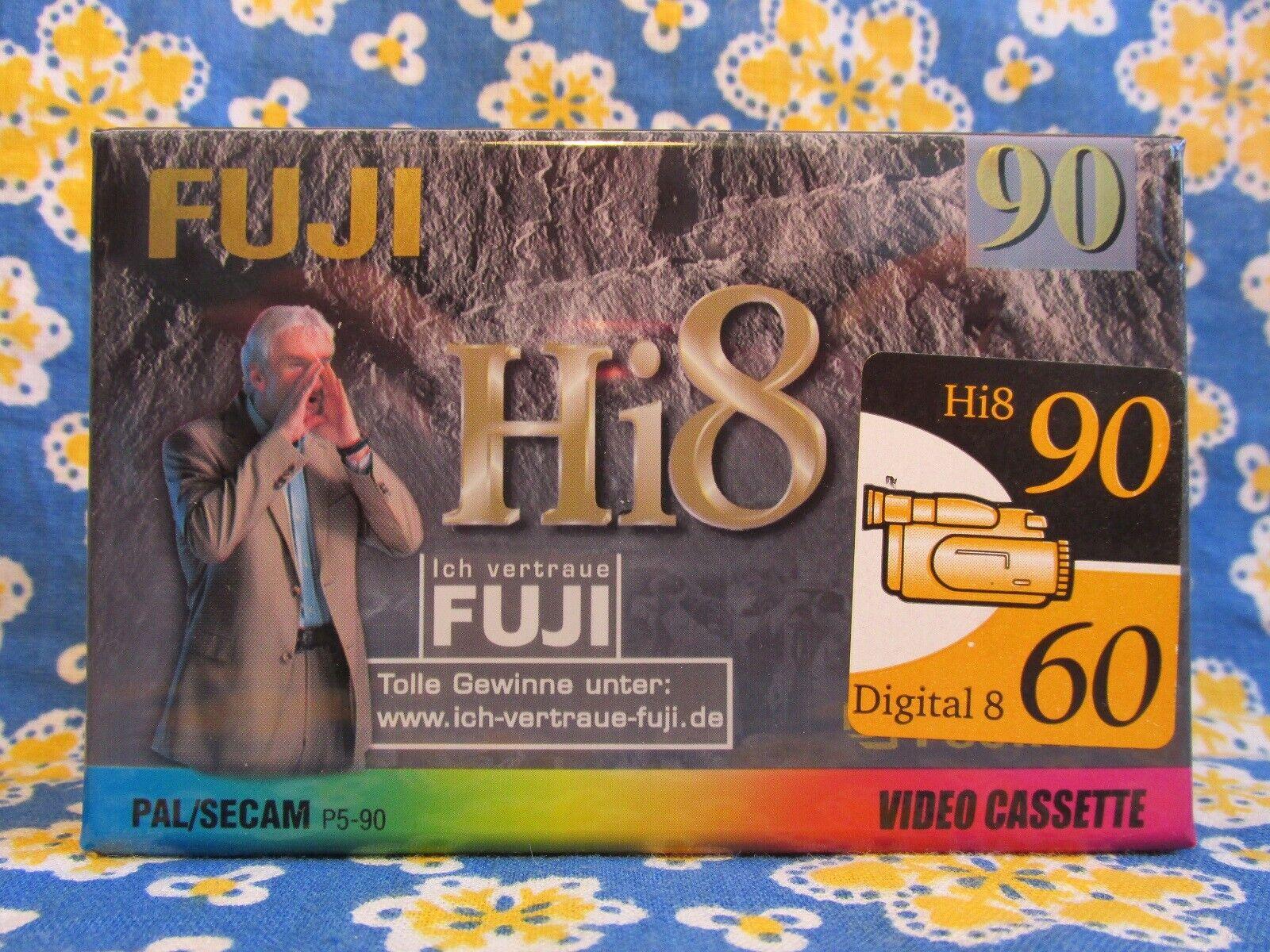 Fuji 90 Hi8 PAL SECAM Digital 60 PAL SECAM Video Cassette OVP