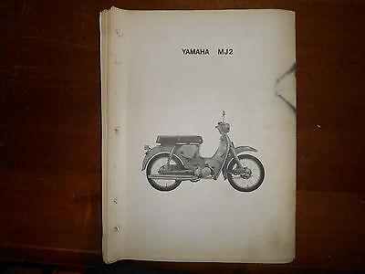 Yamaha Parts Dealer - OEM Yamaha 1962 MJ2 Original Dealer Parts List