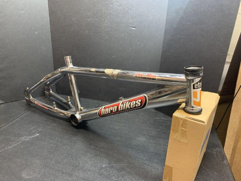 "Haro BMX Chrome Dave Mirra 540 Air Mid School Vintage Frame 20.5"" Top Tube"
