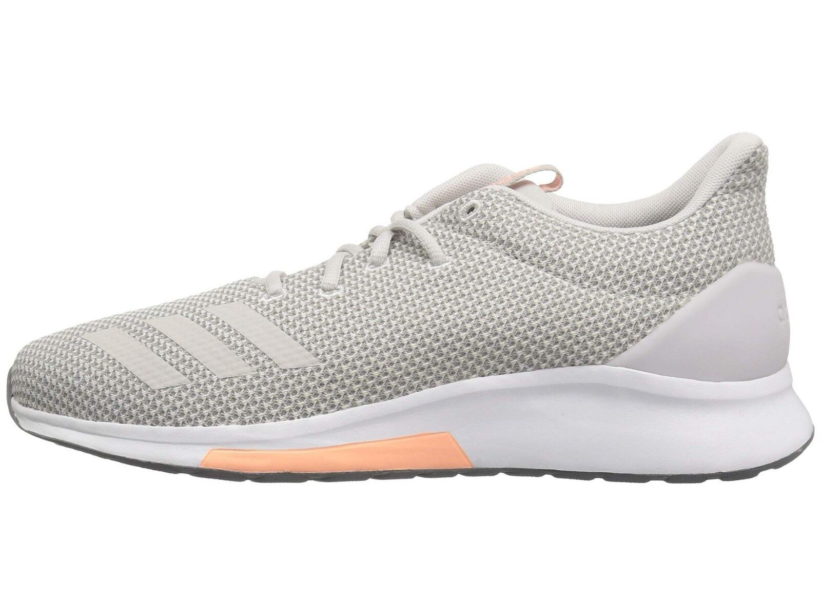 Women Adidas Puremotion Running Shoe B96547 Grey/Grey/Clear Orange Brand New 1