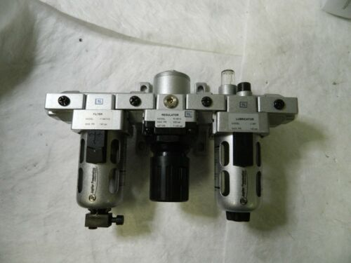 """Jupiter Pneumatics Intermediate Filter Regulator Lubricator 1/4"""" NPT"""