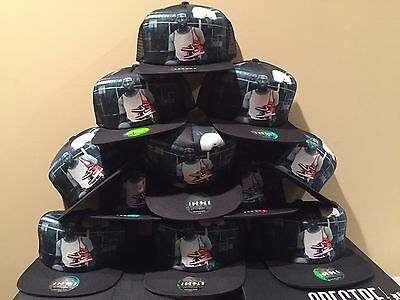 "Nike Air Jordan 1 OG ""30 Years"" Mesh Hat Snap Back Black Retro 667394-010 NEW"