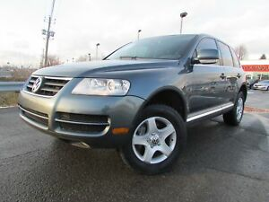 2007 Volkswagen Touareg V6 4X4 A/C CRUISE CUIR TOIT OUVRANT!!!