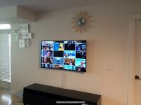 TV Wall Mount Installation Service. 416-700-6001