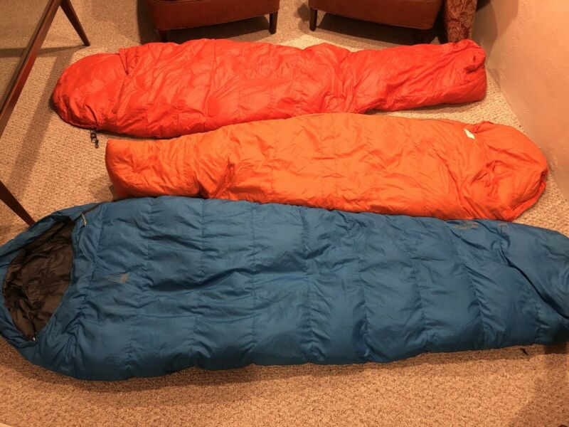 The North Face down sleeping bag