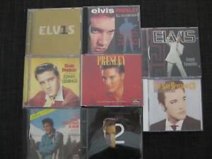 ELVIS PRESLEY CDs - GOSPEL, INTERVIEWS, SUN SESSIONS, TOP 30, CLASSICS