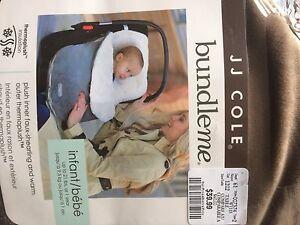 Car seat bunting bag
