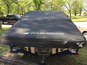 Four Winns Boat Cover 2008-2012 190 Horizion W Swim Platform Trailerable Black