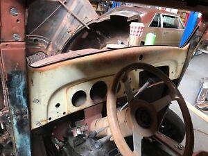 1936 1937 1938 GMC Chevrolet Pickup Truck Dashboard Dash Board.