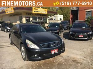 2010 Infiniti G37 X/AWD/Winter tires with rims including in the