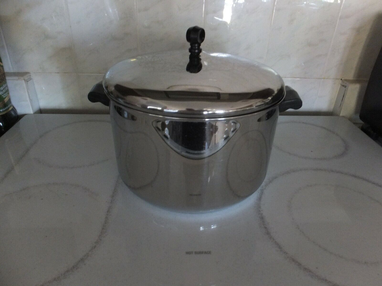 FARBERWARE 8qt Stock Pot Dutch oven Aluminum Clad Stainless