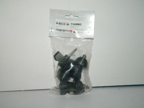 Manfrotto 160SPK3 Rubber Spiked Foot Set, Black New in Package