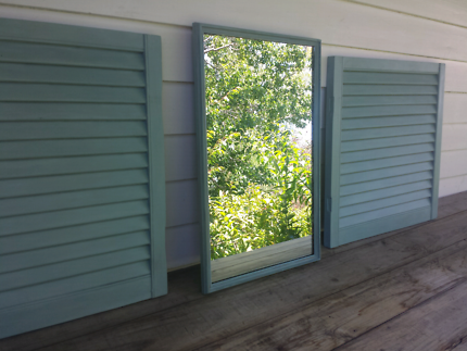 Shutters and Mirror