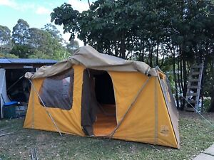 Oldie but a goodie this massive canvas tent is up for sale