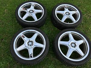 Xhp 17 inch wheels 4x100 4x114.3 Lake Heights Wollongong Area Preview