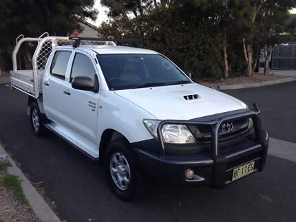 2010 TOYOTA HILUX SR KUN26R 4x4 Turbo Diesel 5 Speed Dual Cab Old Toongabbie Parramatta Area Preview
