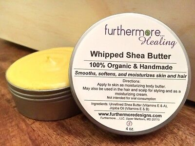 (Handmade Organic Whipped Shea Butter)