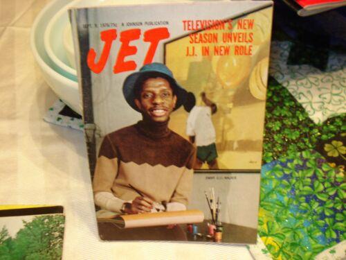Jet Magazine Sept 9 1976  J.J. Jimmy Walker