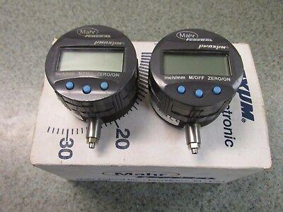 Mahr Federal Edi 10102 Digital Dial Indicator Bundle 2 Used