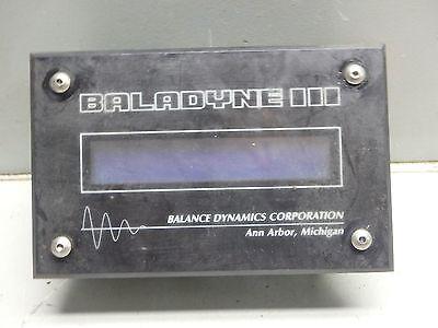 Balance Dynamics Corp. Baladyne Display Modulepn 955version 1.1