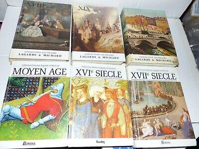 LOT 6 LAGARDE ET MICHARD - MoyenAge XVIe XVIIe XVIIIe XIXe XXe siècle - TBE