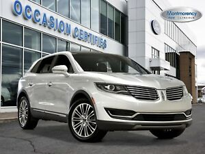 2016 Lincoln MKX Reserve AWD BLIS+CRUISE ADAPT