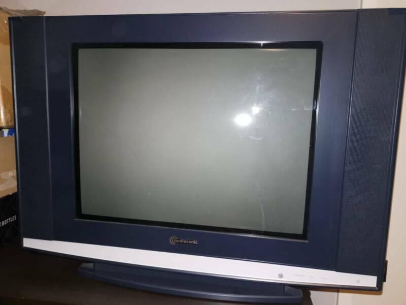 Welp 51cm Audiosonic CRT TV   TVs   Gumtree Australia The Hills XZ-87