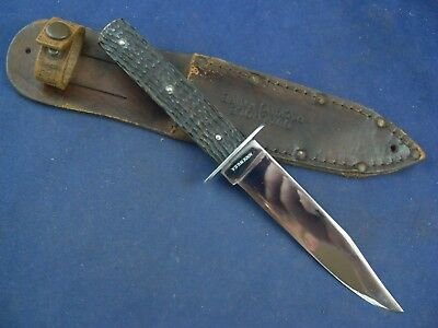 Vintage Cattaraugus The Better Quality Knife with Sheath