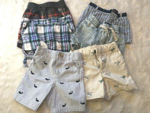 Lot of 6 Boy Shorts, Gymboree, Tommy Hilfiger - 18M