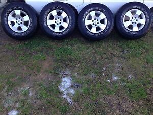 Nissan Navara Alloy Wheels D40 Bellbird Cessnock Area Preview