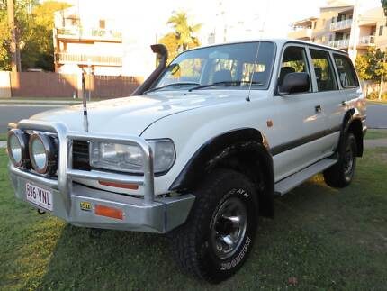 1992 Toyota LandCruiser Factory Turbo Diesel HDJ80R Southport Gold Coast City Preview