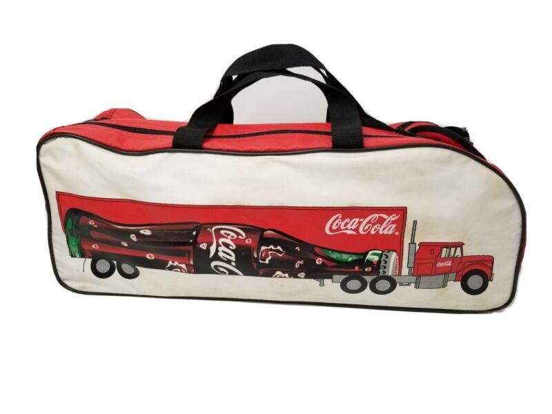 Vintage Blondy Coca Cola Semi Truck Sports Bag Collectible