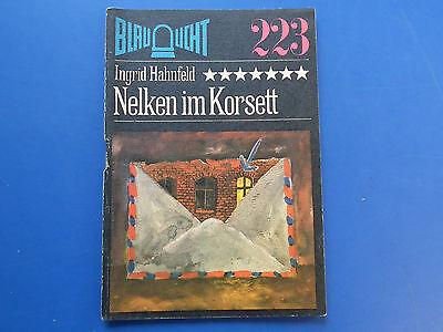 DDR -Krimi-Blaulicht-Nelken im Korsett-Hahnfeld  -Band NR 223 -EA 1983 g.Zust