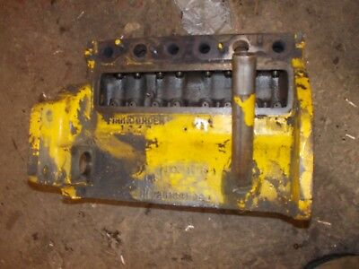 International Cub 154 Low Boy Tractor Original Ih Engine Motor Block Ihc