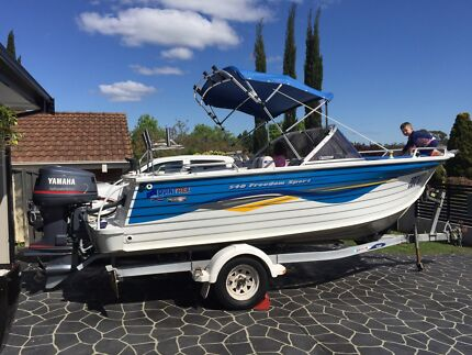 2006 QUINTREX 540 FREEDOM SPORT LIKE NEW!! Camden Camden Area Preview