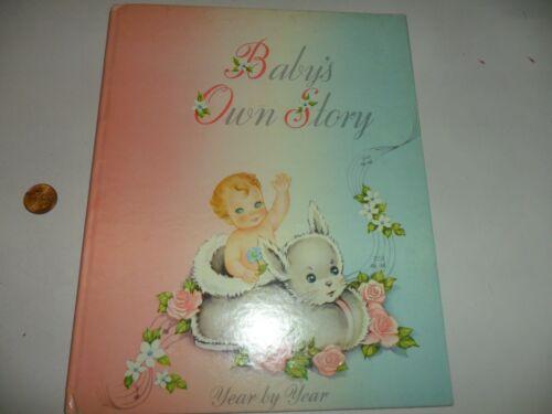 Vintage Baby Record Book -  Cecile Lamb