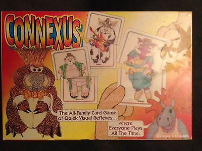 Connexus All Family Card Game Of Quick Visual Reflexes  1999  New  Rare